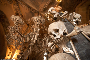 Catholic churches made of human bones